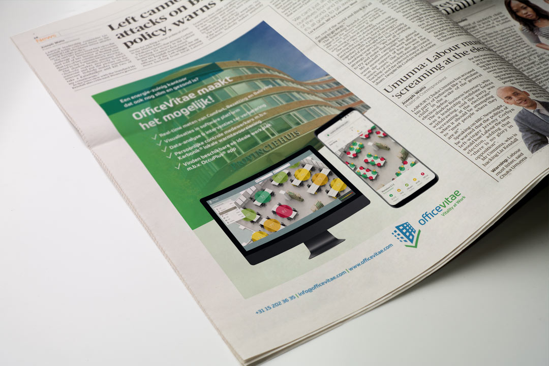 design of advertisment for news paper