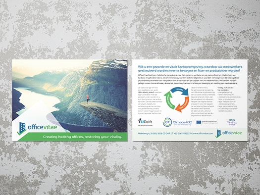 design of promotional post card