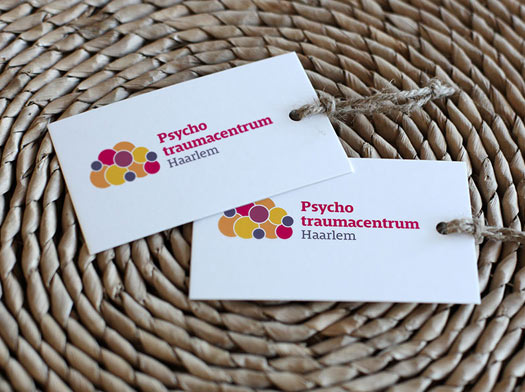 design of promotional card mental health care professional