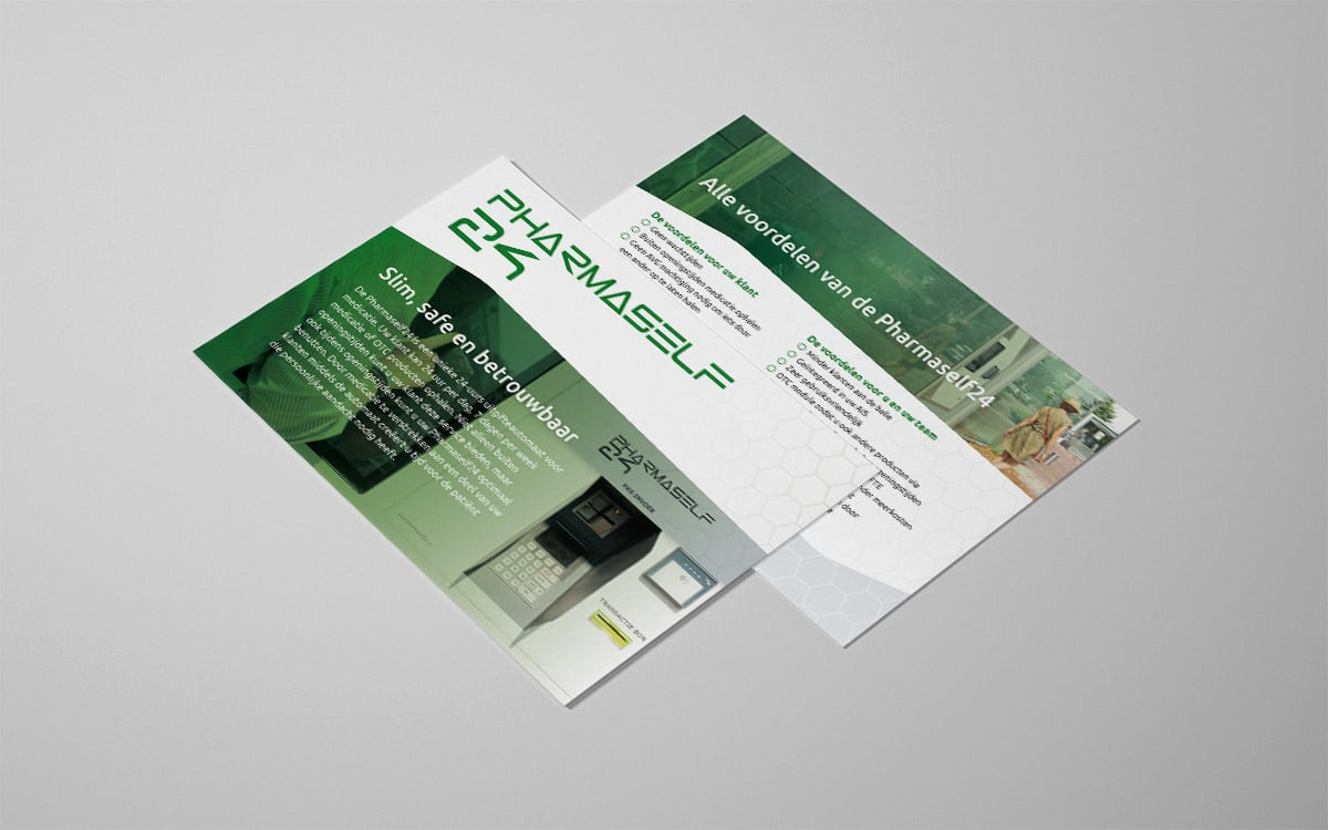 Design promotional card for exhibition