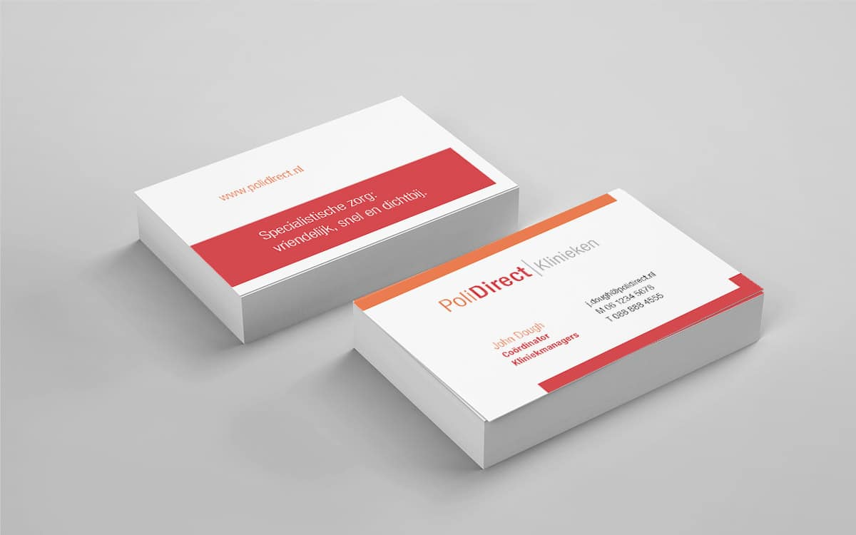 Design of Business Card PoliDirect